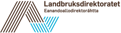 Logo av Landbruksdirektoratet,
